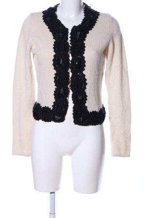 Kinga Mathe Wool Jacket cream-black casual look