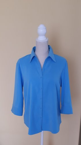 Kingfield Bluse Größe 42 blau