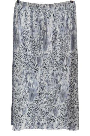 Kingfield Crash Skirt light grey-black animal pattern elegant