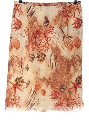 Kingfield Midi Skirt allover print elegant