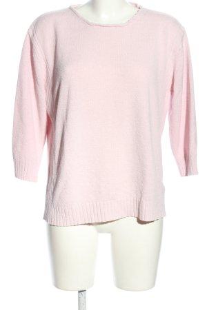 Kingfield Rundhalspullover pink Casual-Look