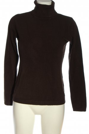 Kingfield Knitted Sweater brown flecked casual look
