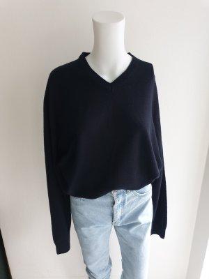 Kingfield Oversized Sweater blue-dark blue
