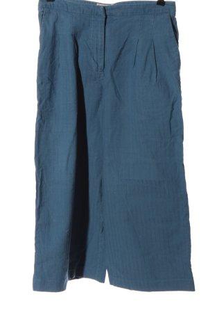 Kings of Indigo Falda pantalón de pernera ancha azul estampado a rayas