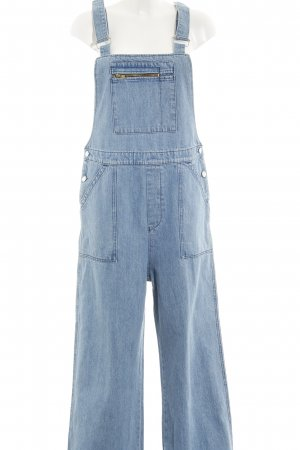 Kings of Indigo Jeans met bovenstuk lichtblauw casual uitstraling