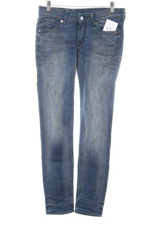 Kings of Indigo Skinny Jeans kornblumenblau Casual-Look