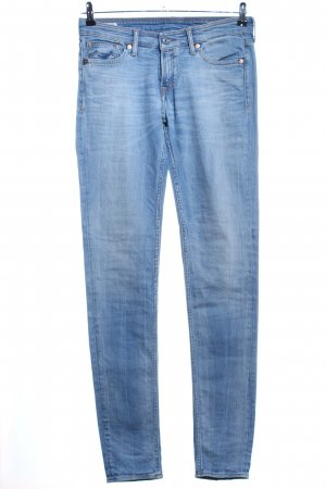 Kings of Indigo Slim Jeans blau Casual-Look