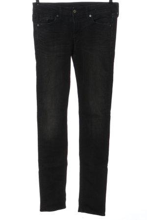 Kings of Indigo Straight-Leg Jeans schwarz Casual-Look