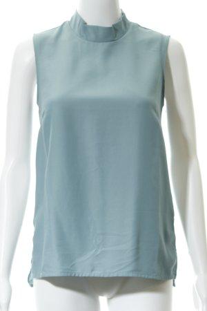 Kiomi ärmellose Bluse blassblau Casual-Look