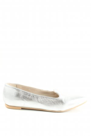 Kiomi Lackballerinas silberfarben Casual-Look