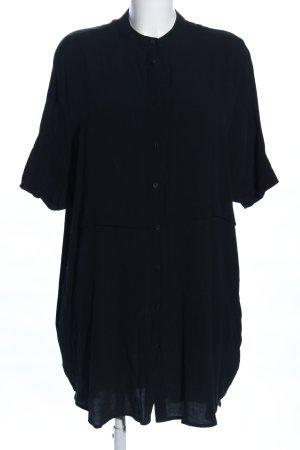 Kiomi Blusenkleid schwarz Casual-Look