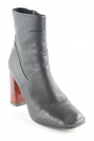 Kiomi Booties rot-schwarz Casual-Look