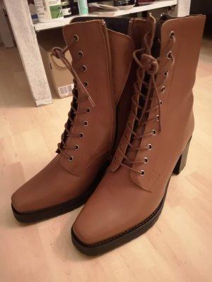 Kiomi Ankle Boots brown-cognac-coloured