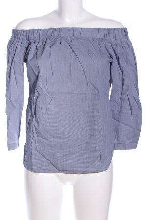 Kiomi Carmen-Bluse blau Casual-Look