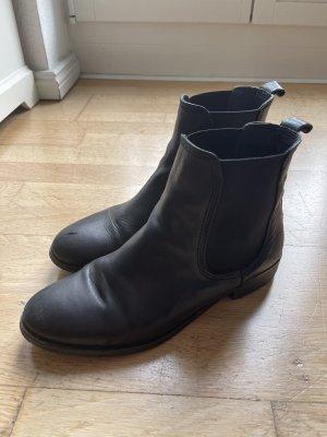 Kiomi Wciągane buty za kostkę czarny