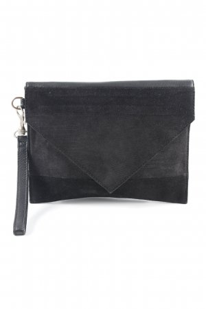 Kiomi Clutch schwarz Animalmuster Casual-Look