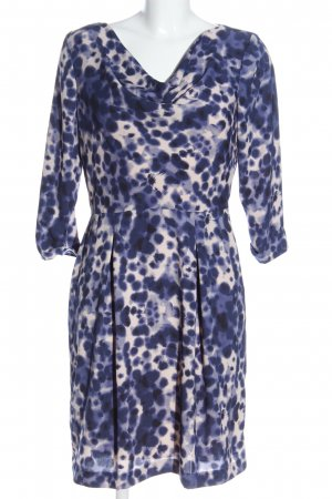 Kiomi Cocktail Dress blue-natural white allover print casual look