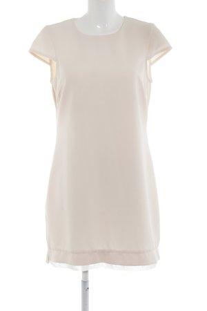 Kiomi Cocktailkleid nude-weiß Stofflagen-Detail