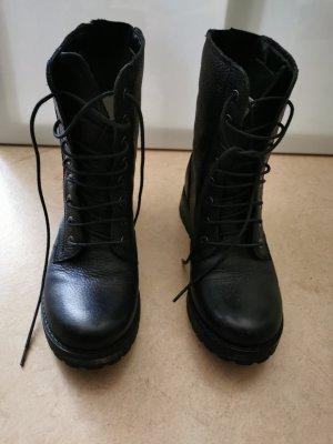 Kiomi Aanrijg laarzen zwart