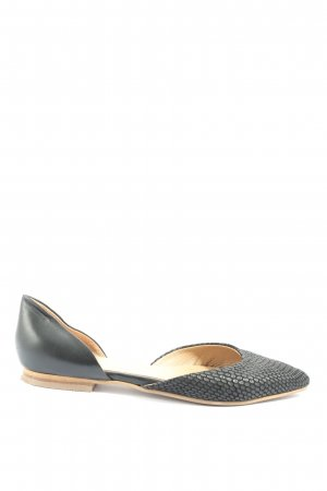 Kiomi faltbare Ballerinas schwarz Business-Look