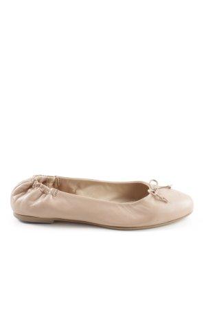 Kiomi faltbare Ballerinas nude Casual-Look