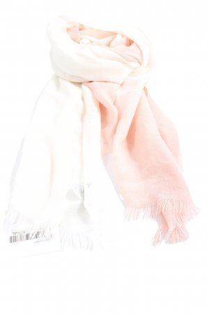 Kiomi Fringed Scarf cream-white color gradient casual look