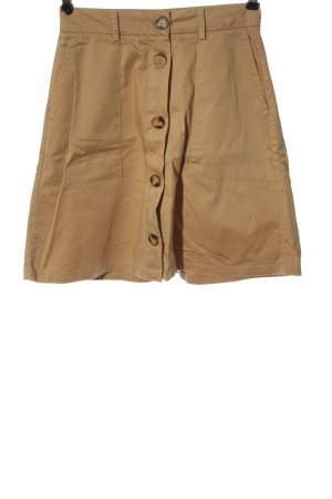 Kiomi Flared Skirt brown casual look
