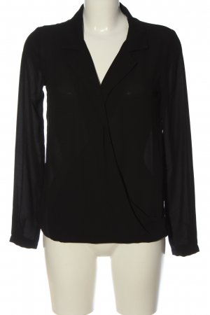 Kiomi Hemd-Bluse schwarz Casual-Look