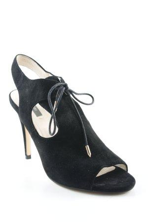 Kiomi High Heel Sandaletten schwarz Elegant