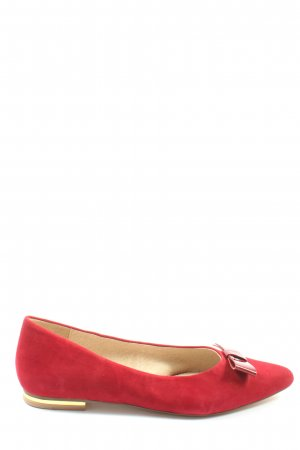 Kiomi Klassische Ballerinas rot Elegant