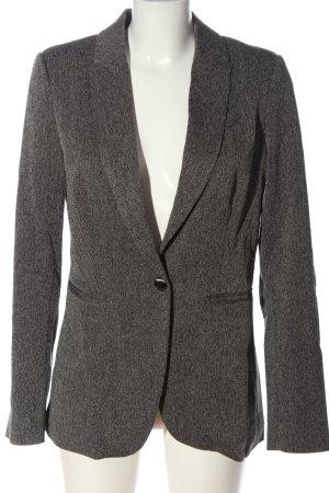 Kiomi Klassischer Blazer light grey flecked business style