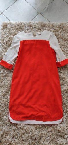 Kiomi Mini Dress white-orange