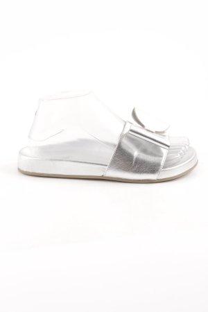 Kiomi Komfort-Sandalen silberfarben Casual-Look