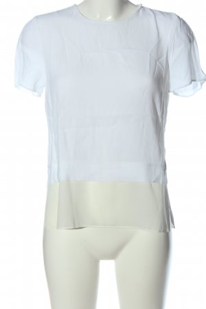 Kiomi Kurzarm-Bluse weiß-creme Casual-Look