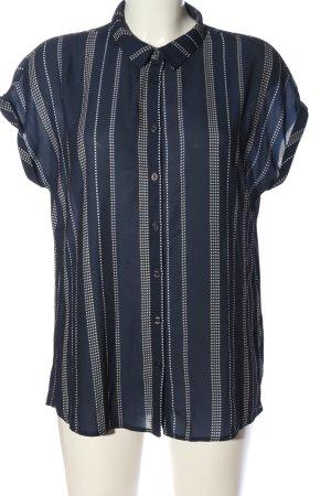 Kiomi Shirt met korte mouwen gestreept patroon casual uitstraling