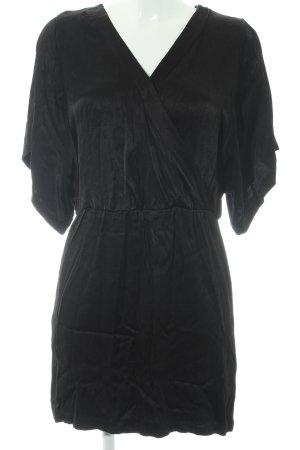 Kiomi Shortsleeve Dress black elegant