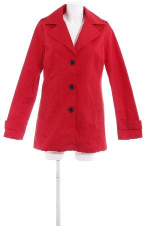 Kiomi Lange Jacke rot schlichter Stil
