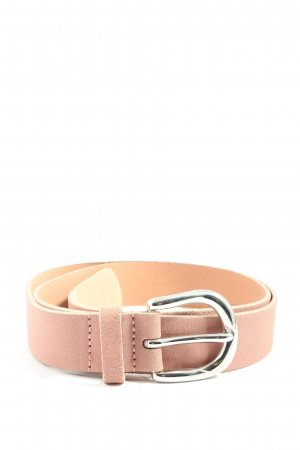 Kiomi Leather Belt pink casual look