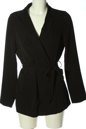 Kiomi Long-Blazer schwarz Casual-Look