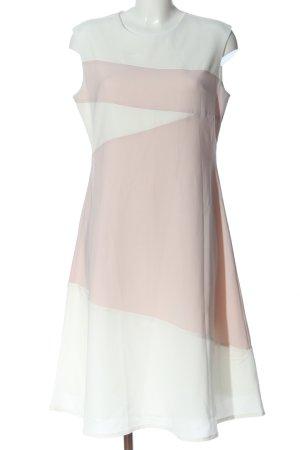 Kiomi Midikleid pink-weiß Casual-Look