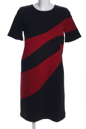 Kiomi Midikleid schwarz-rot Casual-Look