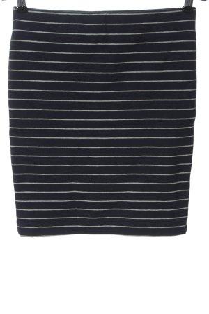 Kiomi Minigonna nero-bianco stampa integrale stile casual