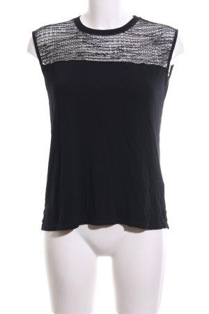 Kiomi Mesh Shirt black casual look