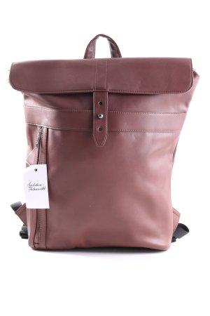 Kiomi Notebookrucksack braun Casual-Look