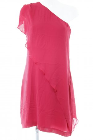 Kiomi One Shoulder Dress neon red party style