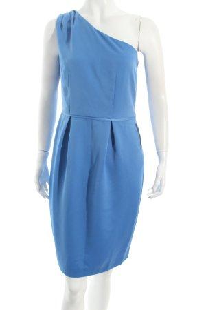 Kiomi One Shoulder Dress steel blue elegant