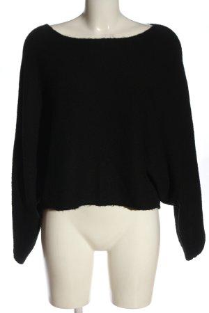 Kiomi Oversized Sweater black casual look