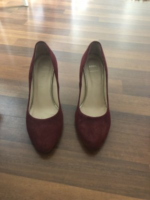 Kiomi Pumps gr 38 bordeaux Velourleder