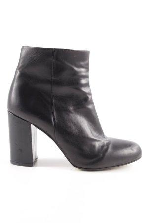 Kiomi Reißverschluss-Stiefeletten schwarz Brit-Look