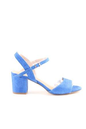 Kiomi Riemchen Sandaletten blau Casual Look
